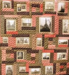 How to make a photo quilt (I will NOT be using these colors)