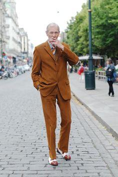 advanced style- fashionable grandpa