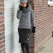 Winterröcke, designed by Manuela Henkel. New style for German snowgirls for playing outdoors???