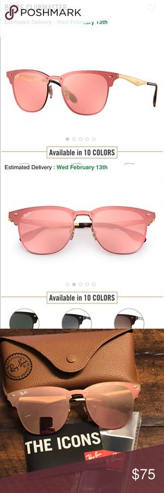 46c19de9e82 Ray Ban Clubmaster Blaze Sunglasses Ray Ban- Blaze Clubmaster Sunglasses-  Originally  198- comes