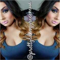 Three-tone Human Ombre Extensions for Cute Hairstyles New Year 2014 Looks