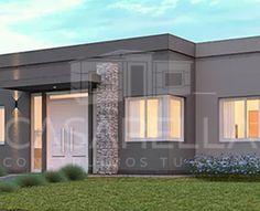 Fachadas de casas con cantera y teja arquitectura for Fachadas de casas modernas en hermosillo