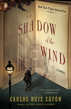 3 out of 5 stars for The Shadow of the Wind by Carlos Ruiz Zafron