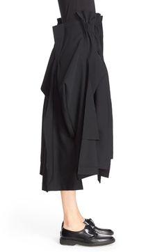Comme des Garçons Wool Gabardine Skirt