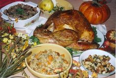 Thanksgiving Favorite: Herb Rubbed Turkey and Spicy Pear Stuffing