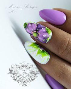 Nail Polish Trends to Inspire Your Next Manicure Food Nail Art, Gel Nail Art, Nail Manicure, Gel Nails, Nail Polish, Bling Nail Art, Floral Nail Art, Bling Nails, Karma Nails