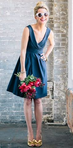 Cute Dresses to wear to a summer wedding - Cute Wedding Ideas Cute Bridesmaid Dresses, Wedding Bridesmaids, Cute Dresses, Summer Dresses, Wedding Dresses, Blue Bridesmaids, Wedding Outfits, Wedding Guest Looks, Bridesmaid Inspiration
