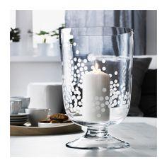 BLOMSTER Lanterne IKEA Soufflé à la bouche : chaque lanterne a été façonnée par un artisan qualifié.