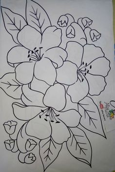 Pin By Brenda Labauve On My Pins Fabric Paint Designs Flower Fabric Painting Designs Quick And Easy Painting Project Design Super Drawing Patterns Ideas Fabrics 15 Ideas Drawing Fabric Diversos…Read more of Fabric Painting Patterns Embroidery Patterns Free, Hand Embroidery Designs, Ribbon Embroidery, Embroidery Stitches, Shirt Embroidery, Painting Patterns, Fabric Painting, Mosaic Patterns, Flower Patterns