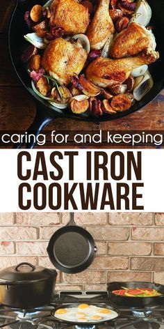 Cooking with cast iron is easy, makes your food taste amazing.  Get these tips on caring for and keeping cast iron cookware.