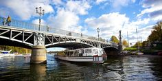 Boat tours along the rivers in Stockholm