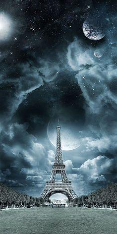 Culturenik Paris France Eiffel Tower Fireworks Decorative City Travel Photography Poster Print 12x24