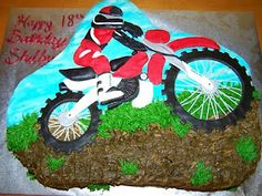 Cakes by Kristen H.: Dirt Bike Cake