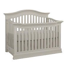 Baby Cache Montana Lifetime Convertible Crib - Glazed White