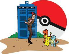 PokeWho by SydneysDoodles.deviantart.com on @deviantART (Pokemon and Doctor Who)