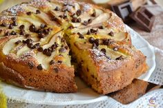 Torta pere e cioccolato senza bilancia