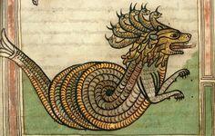 Dragon-Beast. Ger. 9 cent. Valencienne. ms 0099 by tony harrison, via Flickr