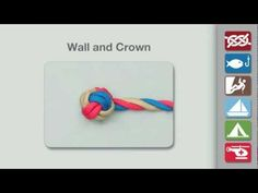 Wall and Crown Knot