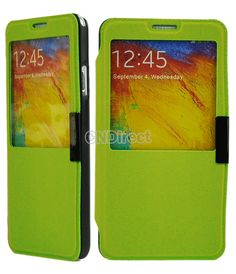 $3.90 Magnet Cover Stand Case For Samsung Galaxy Note 3 III N9000 Green