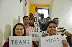 MealTango celebrating 1000 likes on FB