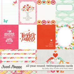 All Year Round: Twitterpations Cards by Traci Reed and Jay Day Studio