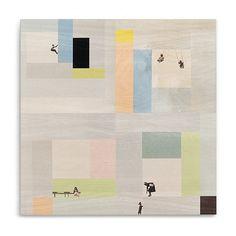 StoryTiles StoryWood Mondriaan 4-luik Wanddecoratie 100 x 100 cm kopen? Bestel bij fonQ