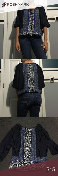 Express Blouse Perfect condition! No stains or rips Express Tops Blouses