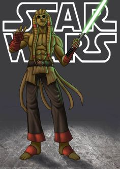 kit fisto - star wars by ~funeralwind