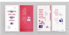Cosmico identity by Clara Fernandez Leaflet Design, Ad Design, Book Design, Layout Design, Print Design, Editorial Design Layouts, Behance, Self Branding, Book Layout