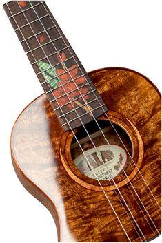 Kala Ukulele, Cool Ukulele, Cool Guitar, Acoustic Guitar Cake, Guitar Diy, Punk Rock, Pineapple Ukulele, Guitar Stand, Learn To Play Guitar