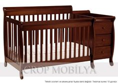 Kalani Crib and Changer Combo with Toddler Rail Best Crib, Convertible Crib, Full Bed, Baby Cribs, Toddler Bed, Nursery, Design Inspiration, House Design, Modern
