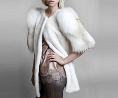 Mink coat and fox   @lillyevioletta is trend. A jacket or long coat handmade by Italian luxury fur brand Lilly and Violetta. To produce the coat have used a combination of mink and fox fur coat resulting in a luxury, it is known, will create controversy and opinions for and against. #woman #mens #home #fashion #style