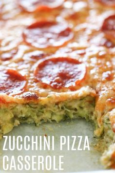 Zucchini Pizza Casserole | Six Sisters' Stuff Zucchini Pizza Casserole is made at least once a week at my house. Life gets crazy busy, so if I get dinner on the table by six, I feel proud of myself. This Zucchini Pizza Casserole, is one the whole family loves. It is so easy to make, and takes minutes to throw together. Pizza Recipes, Casserole Recipes, Dinner Recipes, Cooking Recipes, Cooking 101, Potato Recipes, Cooking Ideas, Casserole Dishes, Vegetable Recipes