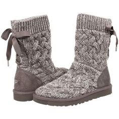 UGG Isla Women's Boots ($150) ❤ liked on Polyvore featuring shoes, boots, mid-calf boots, mid boots, slipon boots, ugg australia, slipon shoes and platform shoes