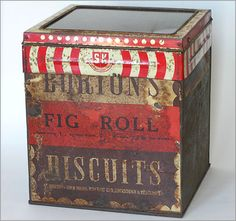 Anyone Looking For Vintage Food Cans And Tins