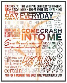 DMB Lyrics