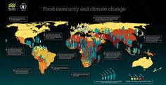 How is #climatechange linked to hunger? See this map for #foodsecurity impacts: http://www.wfp.org/content/maps-food-insecurity-and-climate-change #COP21