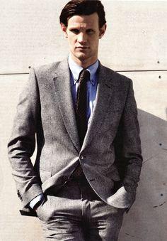 Ah yes. I too sometimes wish my boyfriend would wear Matt Smith'so skin. ♡