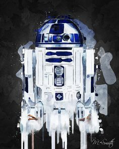 R2-D2 (acrylic) by Mike Smith
