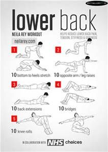 low back exercises - Bing images