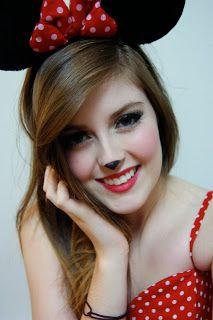 Paisley Elizabeth: Minnie Mouse Makeup! | Makeup | Pinterest ...