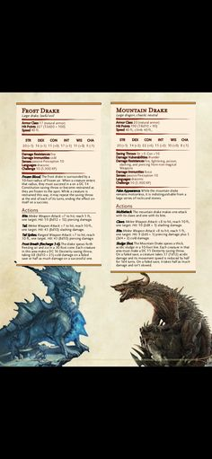 Dungeons And Dragons Rules, Dungeons And Dragons Classes, Dnd Dragons, Dungeons And Dragons Characters, Dungeons And Dragons Homebrew, Dnd Characters, Monster Concept Art, Fantasy Monster, Dnd Stats