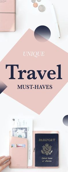 Unique Travel Must-Haves