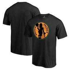 Boston Celtics Hardwood Big & Tall T-Shirt - Black