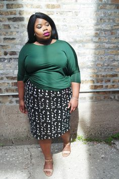 Personal Stylist and style educator. Polishing radiant personalities using style as the vehicle and confidence as the fuel. Plus Size Work, Plus Size Women's Tops, Plus Size Fashion Blog, Curvy Girl Fashion, Office Outfits, Work Outfits, Plus Size Outfits, Style Inspiration, Style Blog
