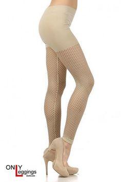Seamless Fishnet Leggings