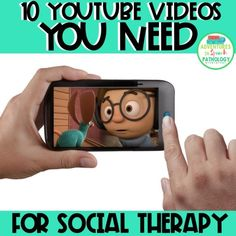 10 videos for social therapy Social Skills Lessons, Social Skills Activities, Teaching Social Skills, Counseling Activities, Social Emotional Learning, Speech Therapy Activities, Coping Skills, Learning Skills, Elementary Counseling