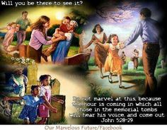The Resurrection of God's children,when Jesus rules this Earth - Daniel 2: 44