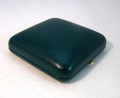 Gemini éremdoboz 125*125*3mm bőrhatású, zöld