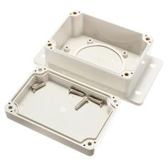 100x68x50mm Electronic Plastic Box Waterproof Electrical Junction Case Clear Cover ILS